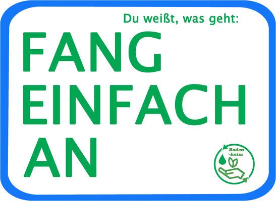 """#statement, Aktionsbündnis, """"Fang einfach an - Du weißt, was geht!"""""""