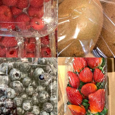 """Anonym 16 """"Obstteller in Plastik"""", - Ich gehe jetzt möglichst nur noch unverpackt einkaufen."""