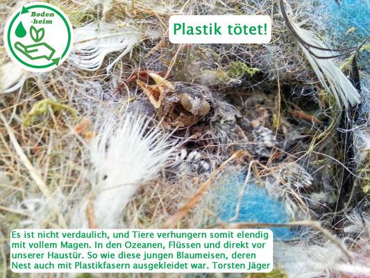 "#statement Aktionsbündnis • ""Plastik tötet!""(Foto: Torsten Jäger)"
