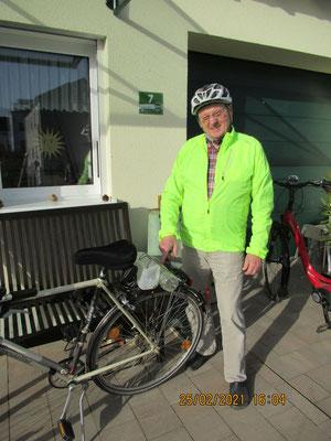 """""""Sport + Natur bewahren ... eine gute Verbindung"""" - Herr Faßnacht beschrieb seine Entwicklung zum Umwelt-Engagierten besonders eindrucksvoll."""
