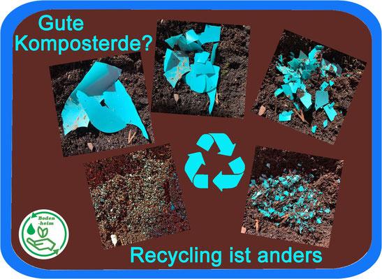 #statement Aktionsbündnis • Plastik in der Erde ist nicht einfach weg - nur viel viel kleiner!