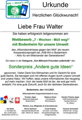 """Sonderpreis """"Andere gute Ideen"""""""