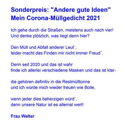 Gedicht Frau Walter
