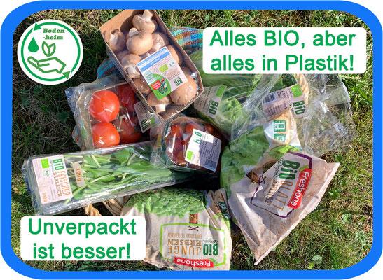 #statement  Aktionsbündnis • Bio ja, aber das geht auch ohne Plastik!