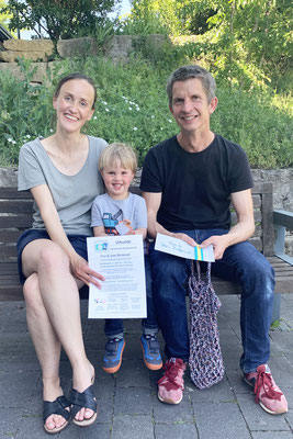 Familienpreis  für Familie Richterich