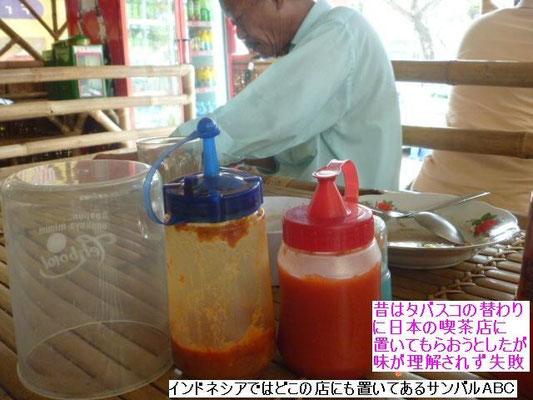 飯屋の必需品、サンバル