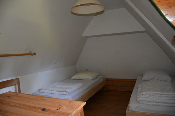 Derde slaapkamer, ook op de bovenste etage.