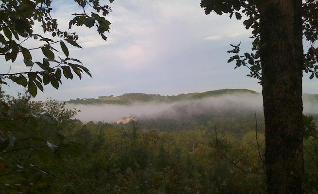 Ook met zwaardere wolken, blijft het mooi