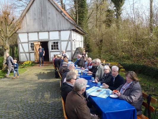 Besuch Rürupsmühle in Löhne (2019), Foto: Thomas Kriete