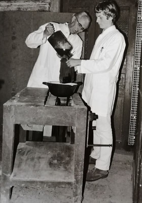 Hermann Rasch und Eberhard Groeger, Foto: Archiv Rasch