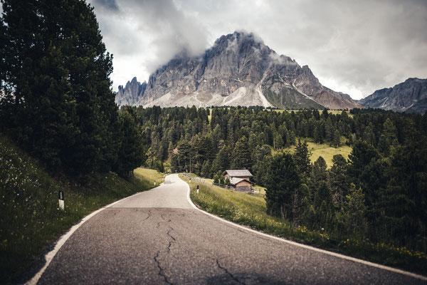 Sass de Putia Dolomites Italy