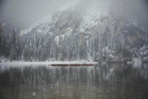 Lago di Braies Dolomiten Italy