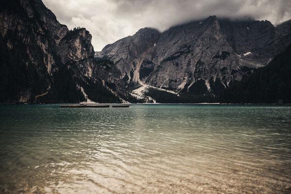 Lago di Braies Dolomites Itlay
