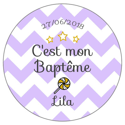 Pack baptême chevrons