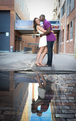 Engagement Photography in the Short North, Downtown Columbus Ohio