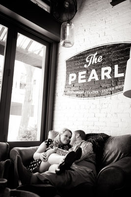 The Pearl, Short North. Columbus, Ohio.   Photo taken by: Christy Gibson, Columbus Wedding Portrait Photographer