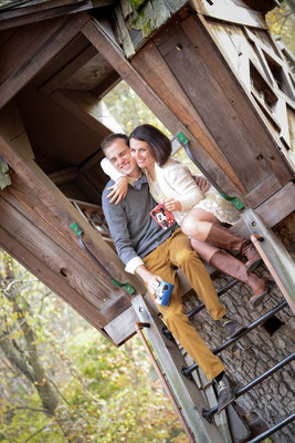 Erin & Glen's Engagement Session at Inniswood Botanical Gardens in Westerville, Ohio