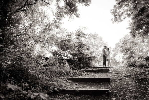 Jena & Kyle's Engagement Portrait Session held at the Grange Audubon Center, Columbus Ohio