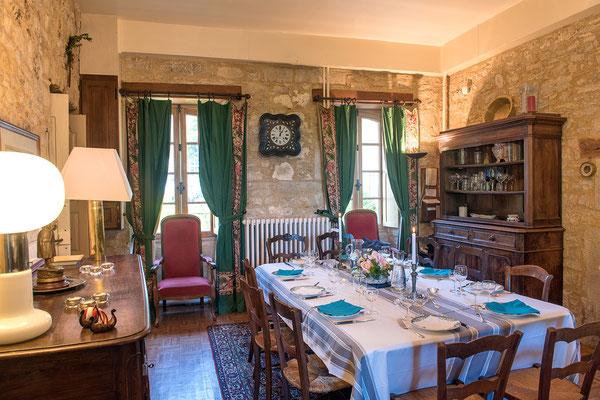 Domaine de Viel Castel, salle à manger