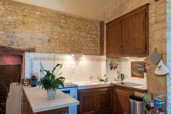 Domaine de Viel Castel, la cuisine toute équipée