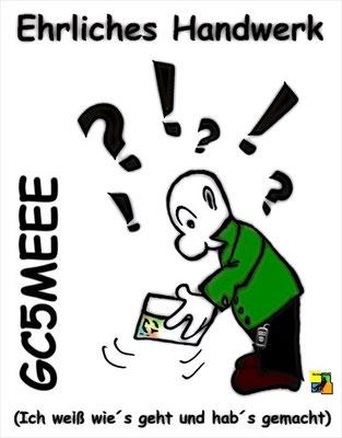 Ehrliches Handwerk Letterbox Geocache