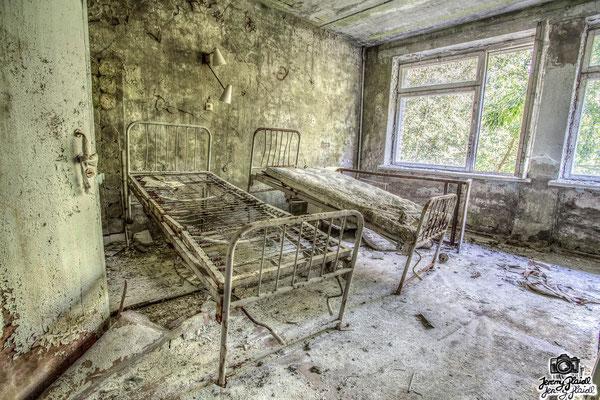 Tschernobyl - Stadtkrankenhaus Pripyat (UK)