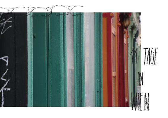 Foto Zine Wien I Fotografie, Collage, Zeichnung I Rückenstichheftung I 14,8 x 21 cm