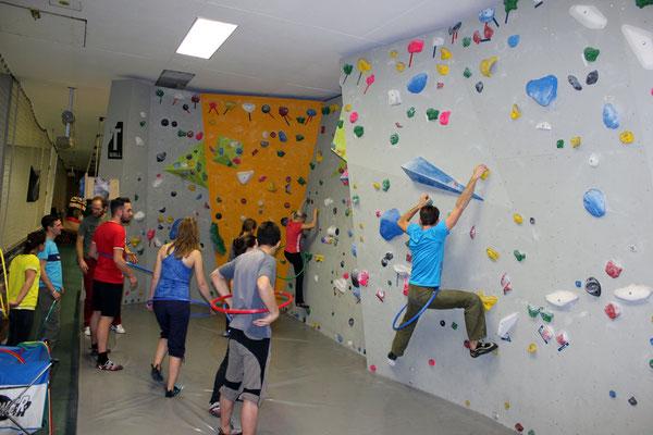 HoolaHoop an der Wand! Ein Spaß!