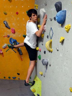 Jungen III: Paul (ITG) am Bewegungsproblem in der Verschneidung ...