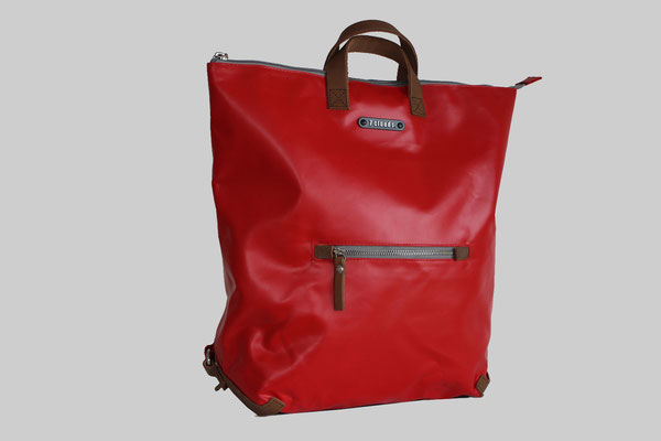 7clouds Rucksack Shams in rot