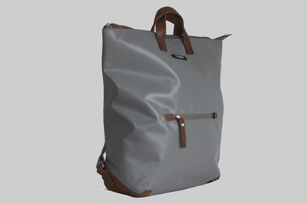 7clouds Rucksack Shams in grau