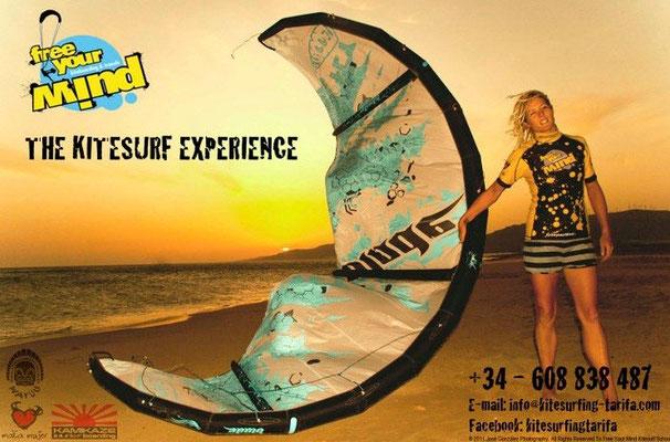 Free your Mind kitesurfing