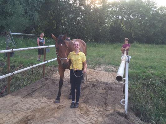 Auch mit Pferd begehbar...