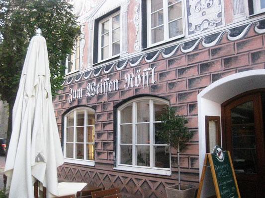 Auch die kulinarischen Genüsse kommen in Wasserburg am Inn nicht zu kurz
