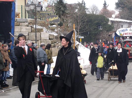 Bollerwagenparade