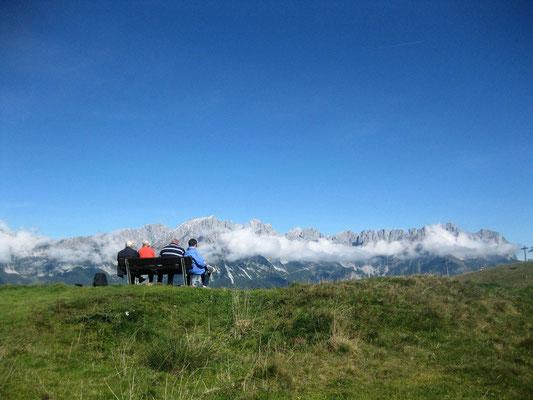 Panoramaweg zur Tanzbodenhütte am Wilden Kaiser