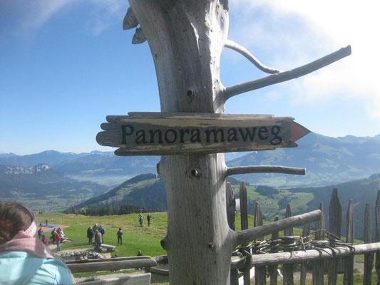 Panoramawanderweg am Wilden Kaiser