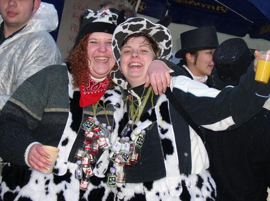 Zwei Dalmatinerdamen