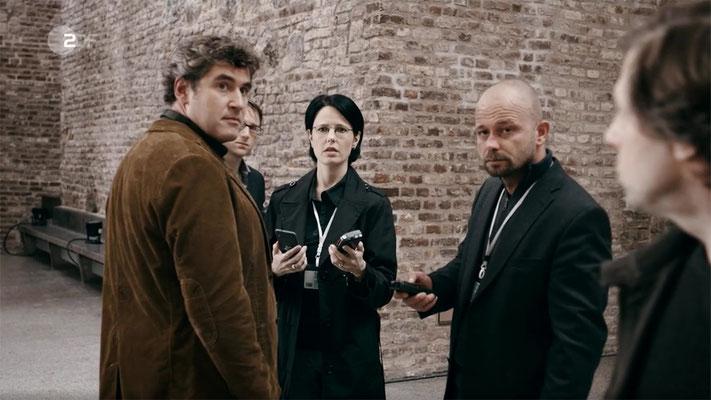 Ravienne Art Kleindarstellerin - Screenshot - Wilsberg - ZDF