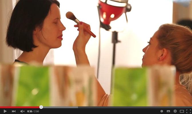 Ravienne Art Model - Garnier Olia Casting - Making-Of-Video