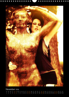 Ravienne Art Model - Kalender Dunkle Verwandlungen / Dark Art