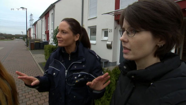 Ravienne Art Darstellerin - Screenshot - Der Blaulicht Report - RTL