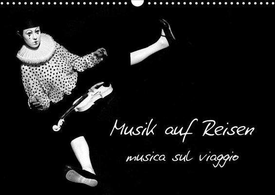 Ravienne Art Model - Kalender Musik auf Reisen / musica sul viaggio