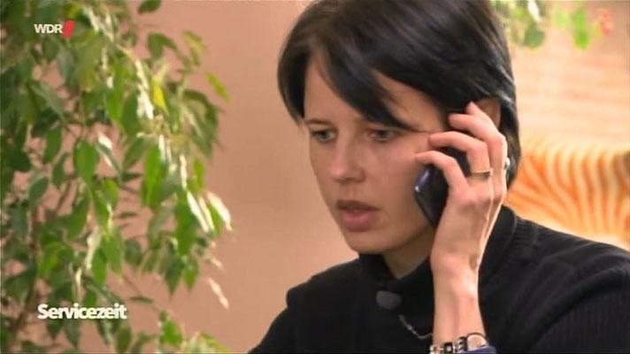 Ravienne Art Protagonistin - Screenshot - WDR Servicezeit