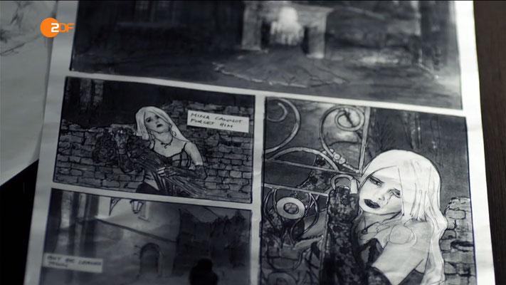 Ravienne Art Film-Model - Screenshot - Soko Köln - ZDF