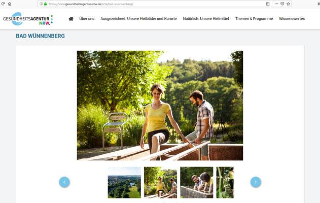 Ravienne Art Foto-Model - Screenshot - Gesundheitsagentur NRW