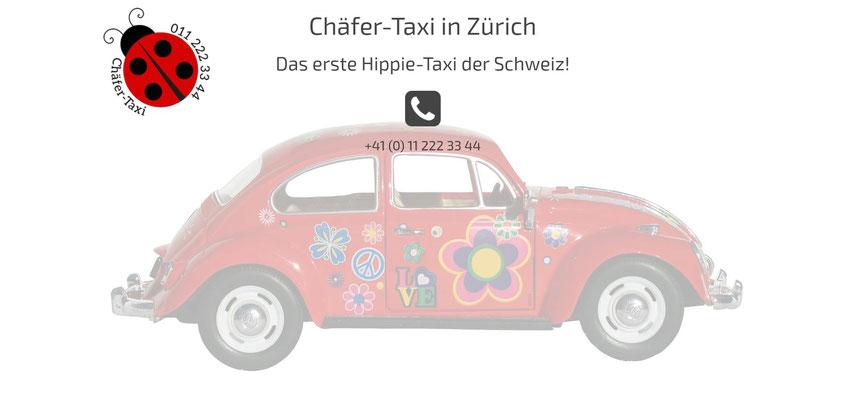 Moderne Internetseiten - Taxiservice