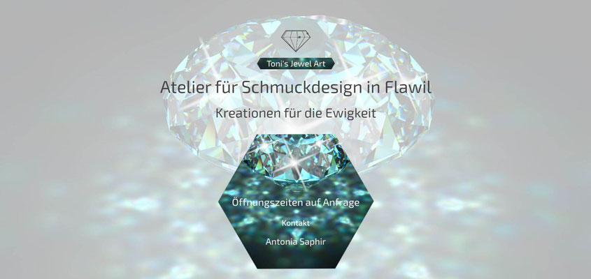 Beispiel-Webseite Kunst_Schmuckdesign