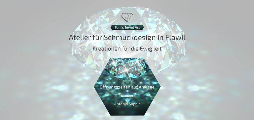 Moderne Internetseiten - Kunst_Schmuckdesign