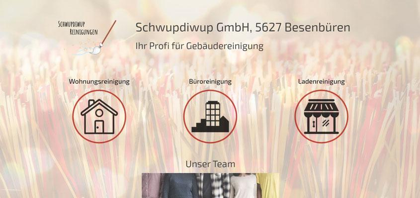 Beispiel-Webseite Gebäudereinigung